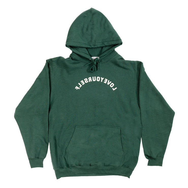 LY Core Collection Hoodie (Forest Green & Beige)
