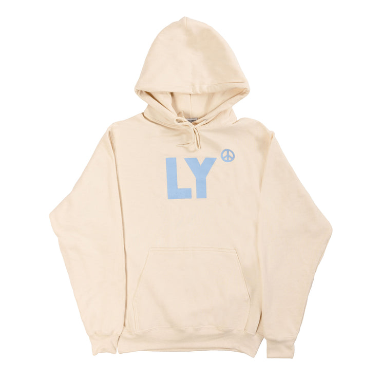 LY Core Collection Hoodie (Cream & Periwinkle)