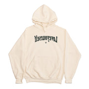 Cream & Black Hoodie (Smell The Flowers)