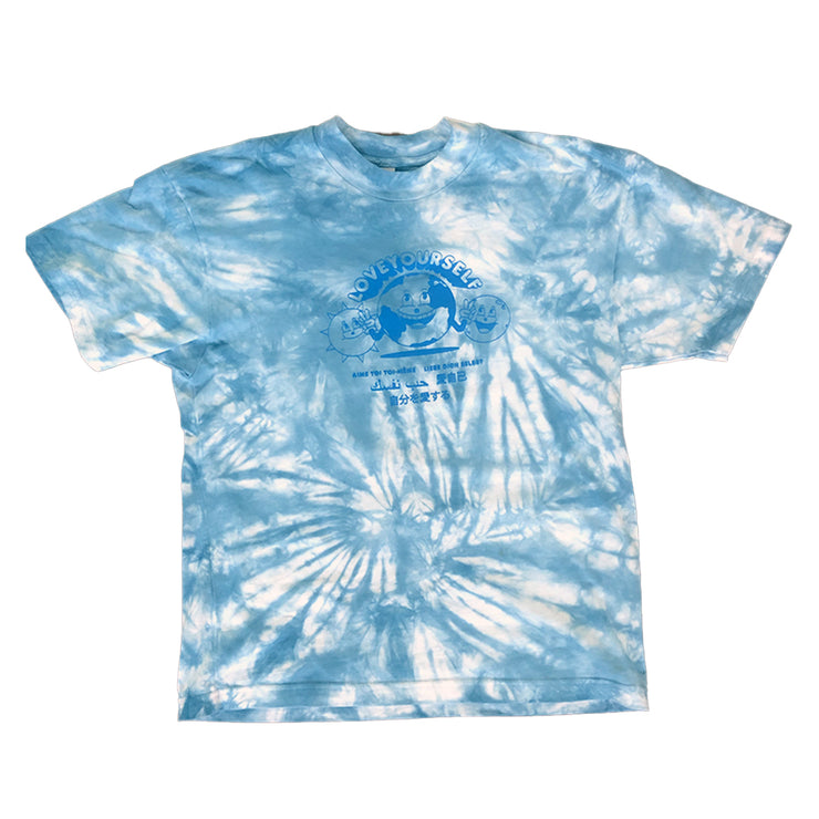 Blue Tie-Dye Global Love T-Shirt