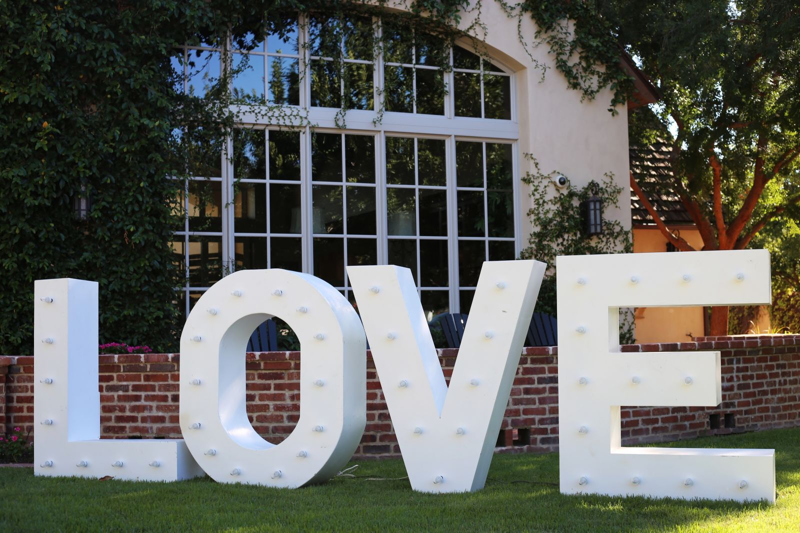 4 Foot Tall LOVE Sign