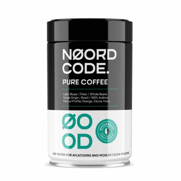 Pure Coffee Light Roast Whole Beans 250g - Biohacker Center Store
