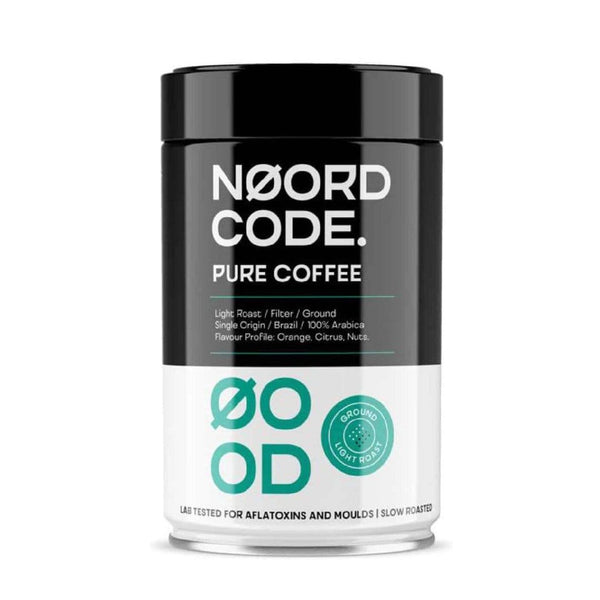 Pure Coffee Light Roast Ground 250g - Biohacker Center Store