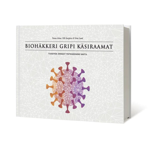 Biohäkkeri gripi käsiraamat (Estonian e-book) - Biohacker Center Store