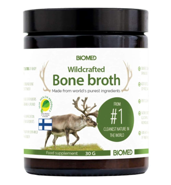 Wildcrafted Bone Broth 30g - Biohacker Center Store