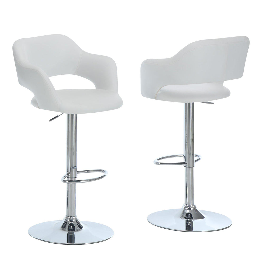 Barstool-chair-white-chrome-hydraulic