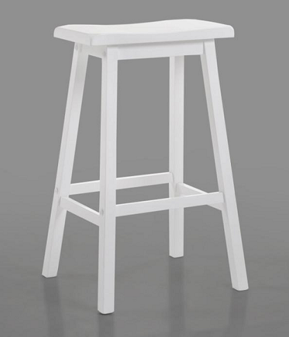 Stool-Bar-Counter-White-Wood