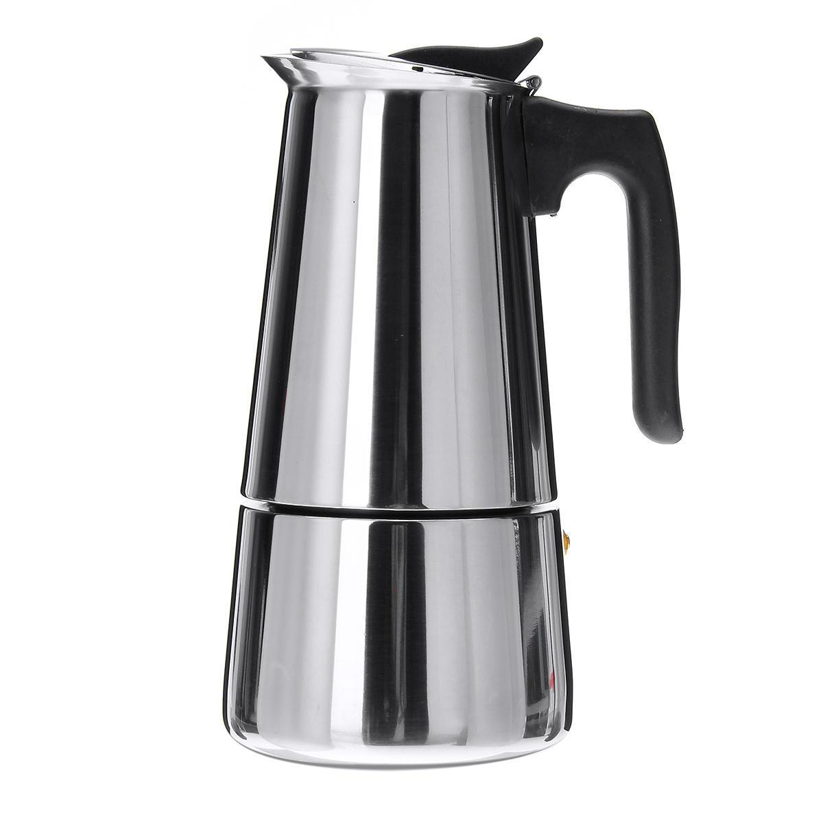 9 Cup Espresso Percolator Coffee Stovetop Maker Moka Latte Pot Stove