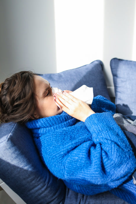 Using an Air Purifier when a Family or Household Member is Sick