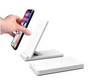QuickX Blitzwolf Qi Wireless 2-in-1 Charging Pad and Stand for iphone and Samsung