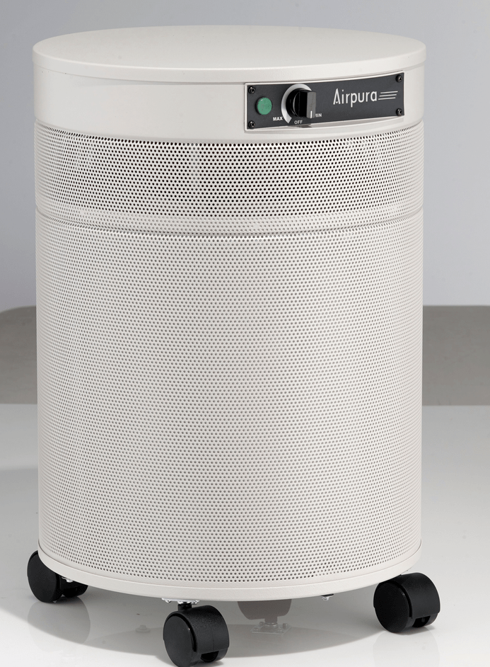 AirPura® I-600 Air Purifier for Asthma, Allergies and Odor with Large Medical Grade HEPA Filter for Pollen, Bacteria, Viruses and Mold, 2000 Sq. Ft. (I-600)