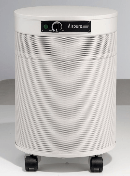 AirPura® Air Purifier for Formaldehyde from Home Renovation and Construction, Harmful Chemicals and Pesticides Enhanced Activated Carbon Filter and HEPA Filter, 2000 Sq. Ft. (F600)