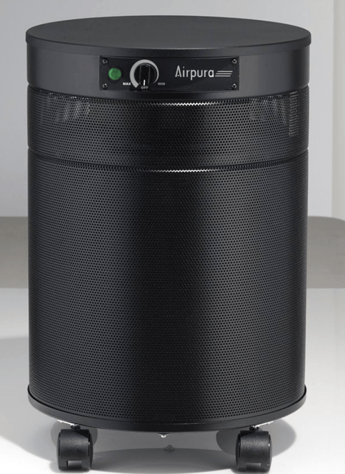 AirPura® Deluxe Air Purifier for Airborne Chemicals, Volatile Organic Compounds with Powerful HEPA Filter and 3 inch Carbon Filter for Asthma and Allergies, 2000 Sq Ft (C600-DLX)
