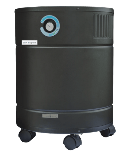 AllerAir® Airmedic Pro5 Plus Air Purifier for Viruses, Bacteria, Mold, Chemicals, Allergy and Asthma with Super HEPA Filter and Carbon filter for Viruses, Bacteria, Mold, Chemicals and Odors, 1500 Sq. Ft. (A5AS21224111)