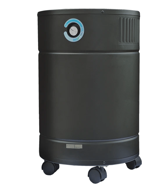 AllerAir® Airmedic Pro6 HD Air Purifier for Viruses, Bacteria, Mold, Heavy Pollution, Chemicals and Odor with Super HEPA Filter and Powerful Deep Activated Carbon Filter, 1800 Sq. Ft.