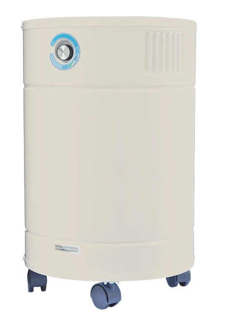 "AllerAir® Airmedic Pro6 Ultra Air Purifier for Heavy Concentrations of Chemicals, Fumes, Odor and Home Workshops with Super HEPA Filter and 5"" Deep Carbon filter, 1800 Sq. Ft."