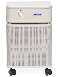 Austin Air Healthmate Plus® Heavy Duty Air Purifier with Medical Grade HEPA filter for Wildfire Smoke, Chemicals, Virus and Heavily Polluted Air, 1500 sq ft (B450)