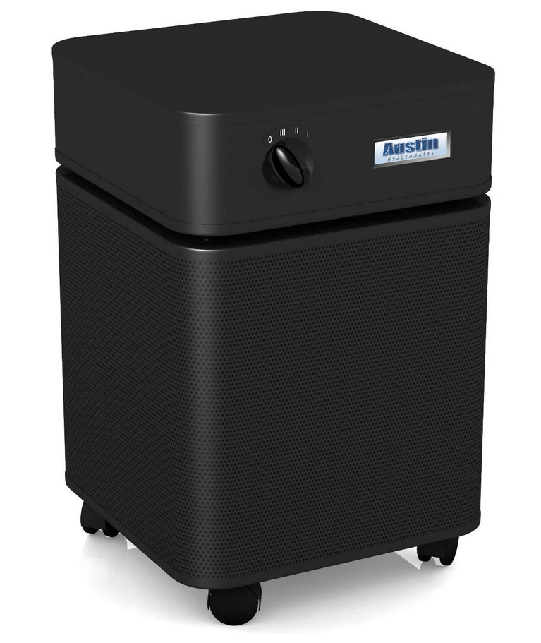 Austin Air Healthmate Plus® Heavy Duty Air Purifier for Viruses, Wildfire Smoke, Chemicals, Bacteria and Heavily Polluted Air with Medical Grade HEPA filter and Activated Carbon Filter, 1500 sq ft (B450)