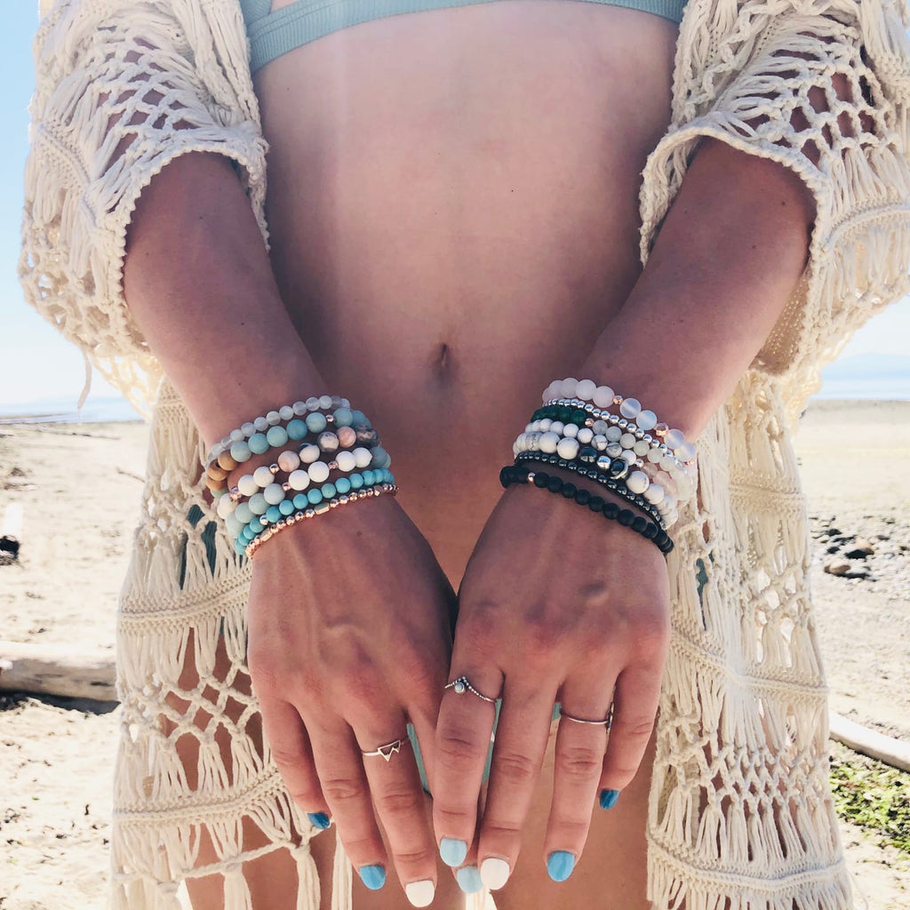 Kokua collective gemstone bracelets