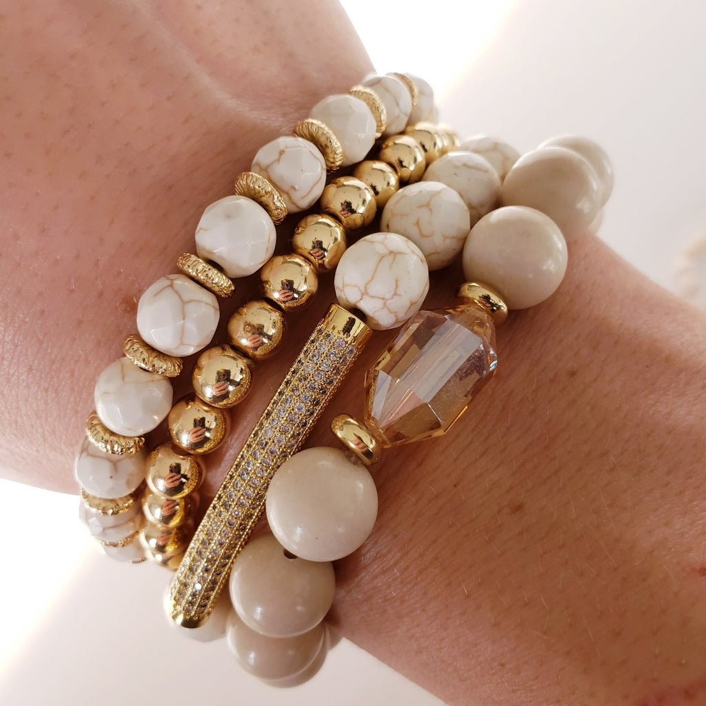 The Andros  Bracelet | Riverstone Gemstone