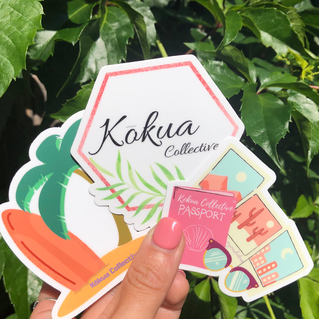 Island Time Sticker - Kokua Collective