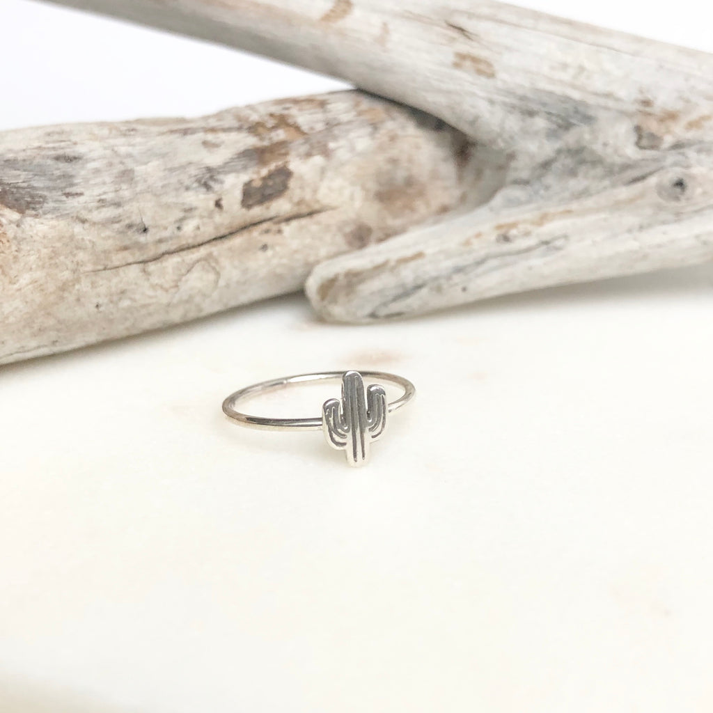 Arizona Desert Cactus Ring - Kokua Collective