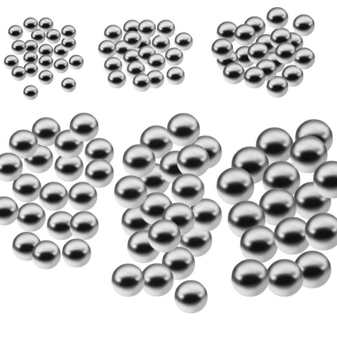 50pcs Durable bicycle Carbon Steel Ball Replacement Parts 4mm 5mm 6mm 8mm 9mm 10mm Bike Bicycle Steel Ball Bearing Hot Sale
