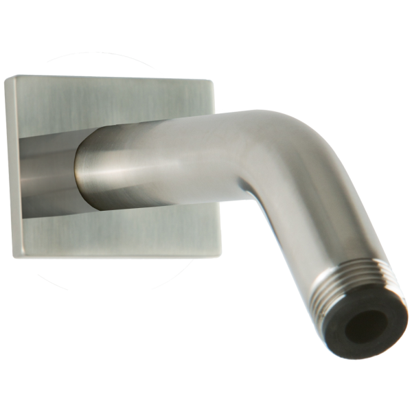F902-28 - Wall Mount Angled Shower Arm R+S Escutcheon