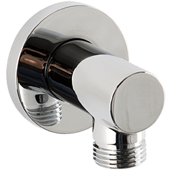 F902-41 - Shower Outlet Elbow, Round