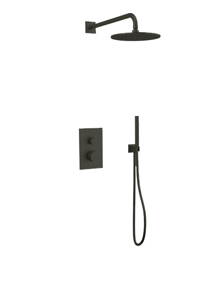 PS141 - Otella Shower Set with Hand Held, Wall Mount Shower Head Round/Square