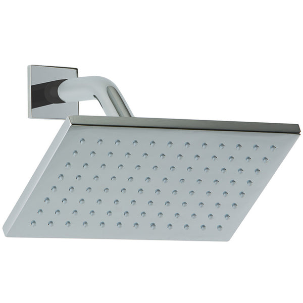 "F907-10 - Shower Rainhead 8"" Wall Mount, Square"