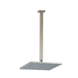 "F907-53 - 10"" Shower Rainhead Ceiling Mount 14"" Arm, Square"