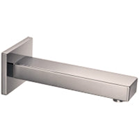F402-10 - Wall Mount Tub Filler Square