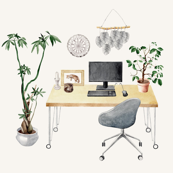 Home Office Ideas for an Ergonomic Setting