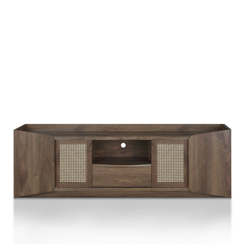 Harmony Transitional 70-inch Distressed Walnut TV Stand