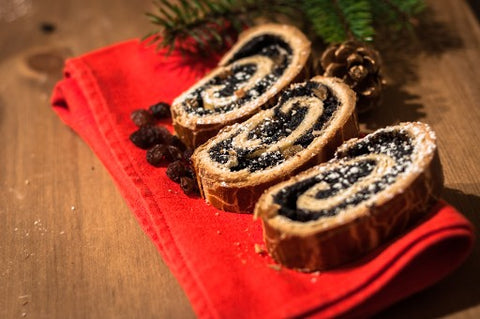 Traditional advent pastry