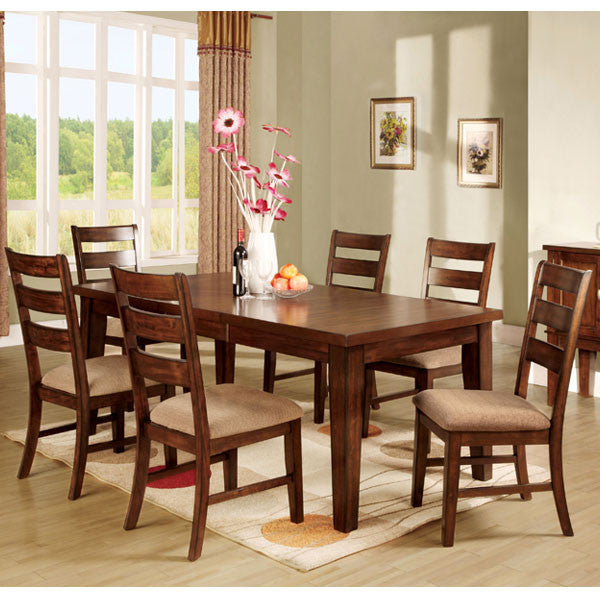 Priscilla Mission Style Antique Oak Dining Set