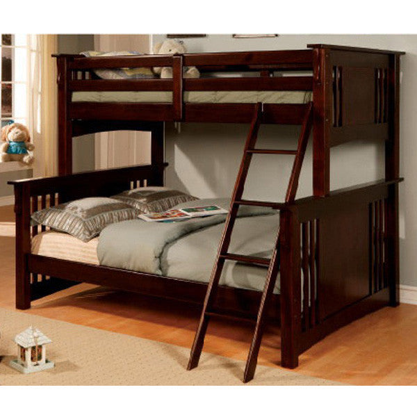 Danbury Mission Style Twin & Full bo Size Bunk Bed – 24