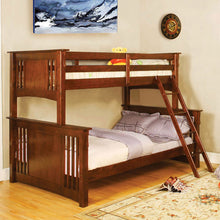 Danbury Mission Style Twin over Full Size Youth Bunk Bed