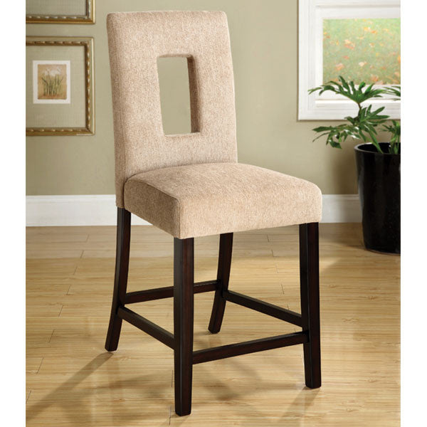 West Palm Espresso Finish Counter Height Chair
