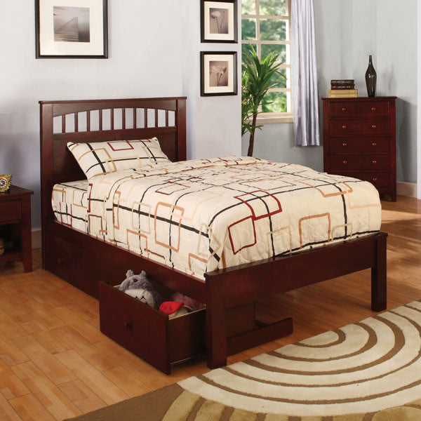 Carus Mission Style Cherry Youth Bed