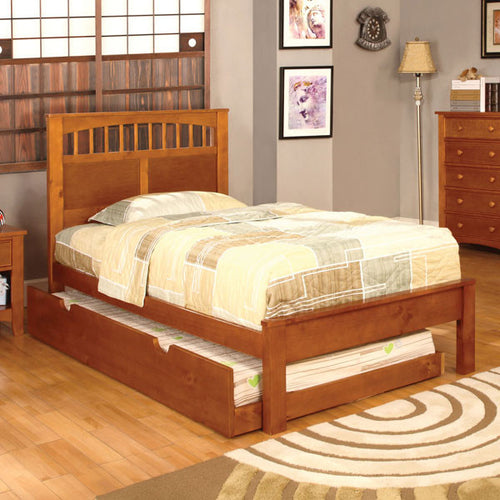 Carus Mission Style Oak Youth Bed