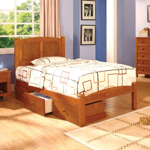 Cara Mission Style Oak Youth Bed
