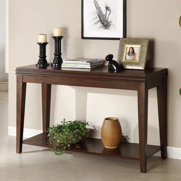 Richmond Classic Style Dark Cherry Finish Console Table