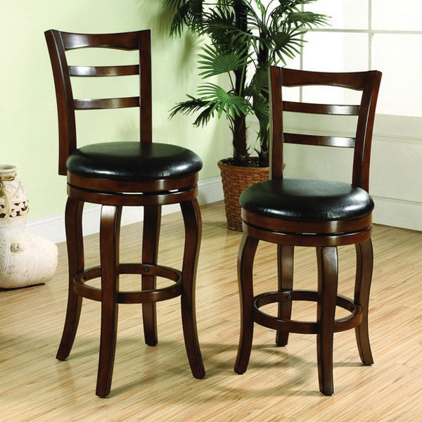 Southland Transitional Oak Finish Swivel Bar Stool (24 inch or 29 inch)
