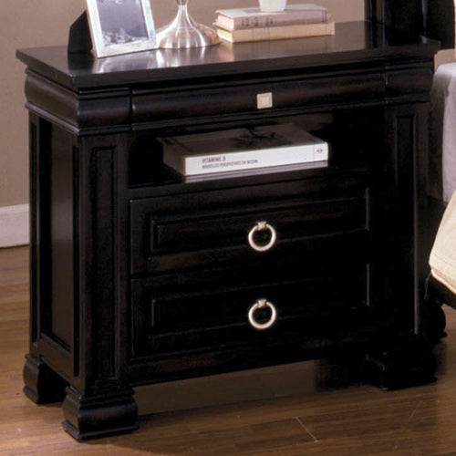 Cambridge Traditional Dark Espresso Nightstand