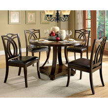 Benhill 5-Piece Dark Walnut Dining Set