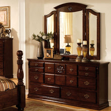 Tuscan Colonial Style Dark Pine 6-Piece Bedroom Set