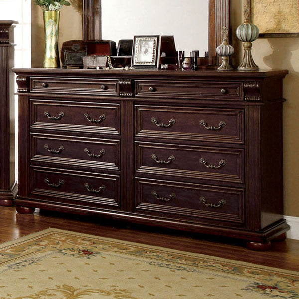 Esperia English Style Brown Cherry Bedroom Dresser