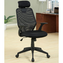 Cloverdale Fabric Height Adjustable Office Chair, Black